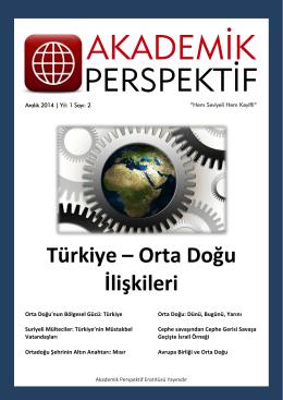 Türkiye – Orta Doğu İlişkileri