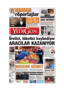 röportajlar - Yedigün Gazetesi