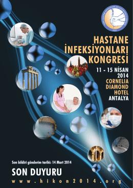 hastane infeksiyonları kongresi