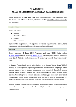 Başvuru Koşulları - Türkiye İş Bankası