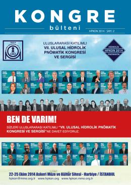 PDF - vıı.ulusal hidrolik pnömatik konresi ve sergisi