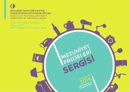Mezuniyet Projeleri Sergisi Kataloğu - 2014