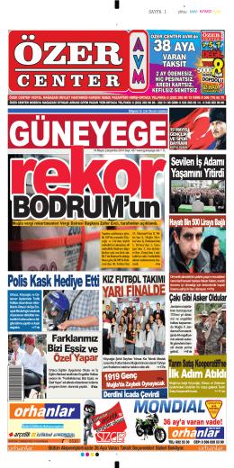 14 Mayıs 2014 - Güney Ege Gazetesi