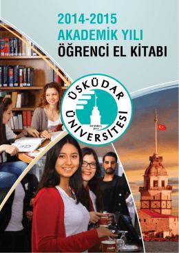 öğrenci el kitabı - Üsküdar Üniversitesi
