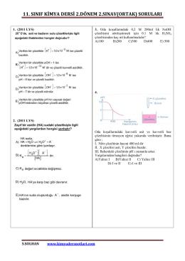 İndir (PDF, 958KB) - Kimya Ders Notları