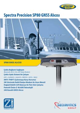 Spectra Precision SP80 GNSS Alıcısı