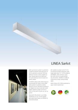 LINEA Sarkıt - EAE Aydınlatma