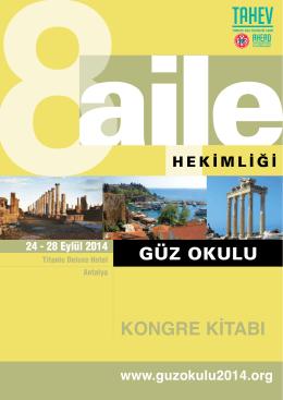 PDF - Atatürk Üniversitesi Tıp Fakültesi Aile Hekimliği AD