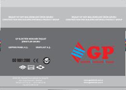 seramik banyo ürünleri - GP Elektrik Mekanik İnşaat