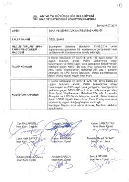 Gündemin 10.Maddesi - Antalya Belediyesi