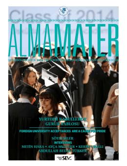 2014 - Üsküdar Amerikan Lisesi