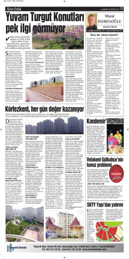 Körfezkent, her gün değer kazanıyor