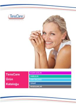 TensCare – Genel Katalog (PDF)