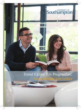 Temel Eğitim Yılı Programları: Anne