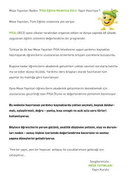 İlkokul Katalog - Meşe Yayınları