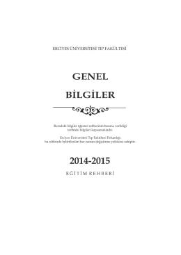 misyonumuz - Erciyes Üniversitesi Tıp Fakültesi