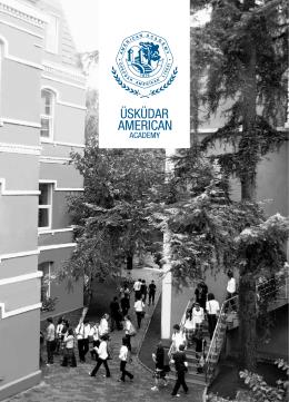 okul broşürü - Üsküdar Amerikan Lisesi