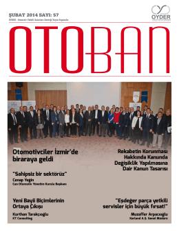 Otoban Dergisi | Sayı 57 Şubat 201421.03.2014