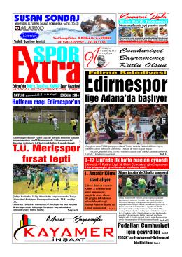 Kammeni Roda - Spor Extra