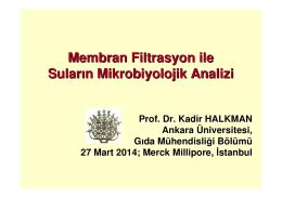 Seminer Notları, Prof. Dr. Kadir Halkman