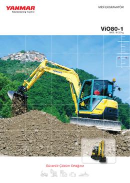 ViO80-1 - Hidromek Ticari