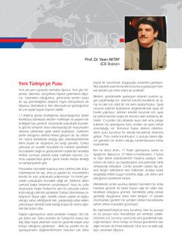 SD Dergisinin Ocak 2014 Sayısının Tamamına PDF Olarak