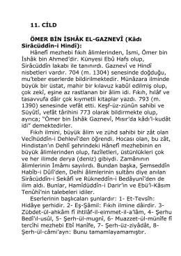 Dr. Enver Oren - Islam Alimleri Ansiklopedisi 11 Cilt_kindle