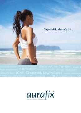 Yaşamdaki desteğiniz... - Aurafix TSD Sağlık Ürünleri