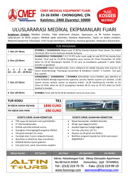 CMEF MEDICAL EQUIPMENT FUARI 23