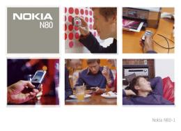 Nokia N80 cihazınız
