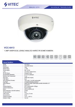 VCC-6413 - Bilgi Elektronik