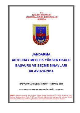 Jandarma Astsubay Meslek Yüksek Okulu