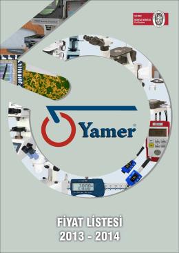 YAMER Fiyat listesi 2014 (1) - FAT