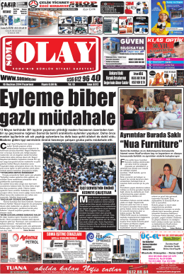 """Nua Furniture"" - Olay Gazetesi"