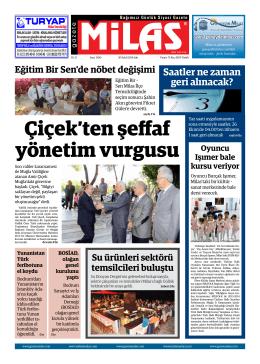 30.09.2014 sal  - Milas Medya Arşivi