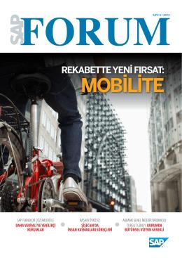 MOBİLİTE - SAP Forum