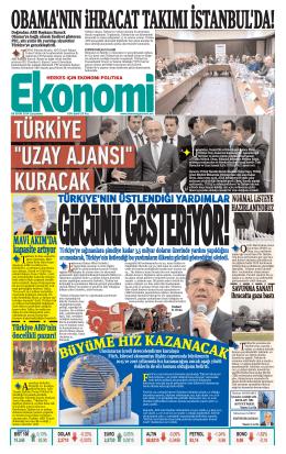 8 EKİM 2014 - Ekonomi Gazetesi