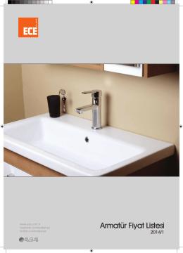 Armatür Fiyat Listesi - Ece Banyo Dolapları