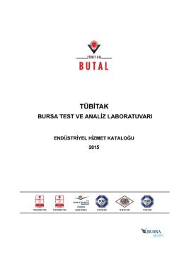 tübitak butal endüstriyel hizmet kataloğu-2015