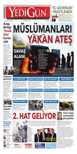 Yemen SAVAŞ ALANI - Yedigün Gazetesi