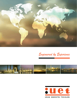 Online Katalog - UET Uran Industrial Plants Construction