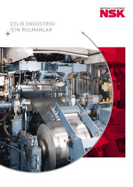Çelik Endüstrisi için Rulmanlar (PDF - 6865.75 KB)
