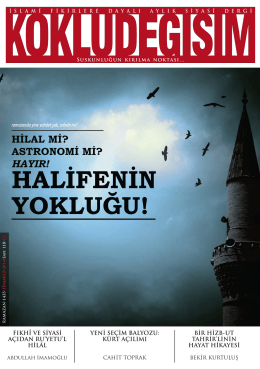 PDF Dergi - Köklü Değişim