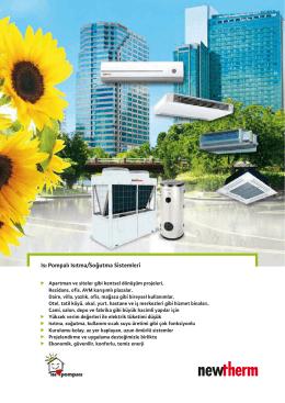 Isı Pompalı Isıtma/Soğutma Sistemleri