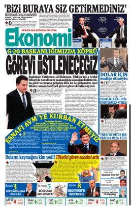 30 eylül 2014 - Ekonomi Gazetesi