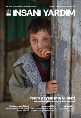 Yetim Dayanışma Günleri - İHH İnsani Yardım Vakfı