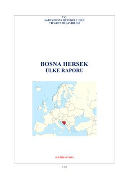 Bosna Hersek Ülke Raporu