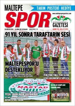 Gazete - Maltepe Spor Gazetesi