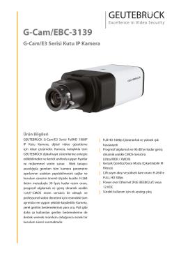 G-Cam/EBC-3139 - GEUTEBRÜCK GmbH