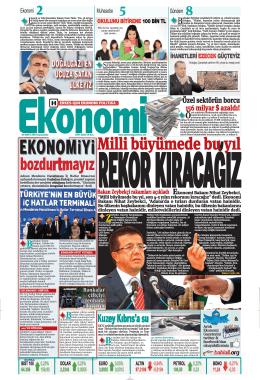 19 MART 2014 - Ekonomi Gazetesi